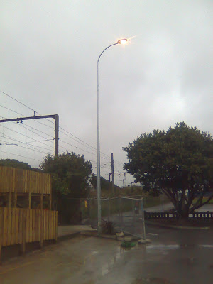 New installation of 12m poles in Tawa