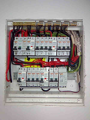 An example of a replacement switchboard
